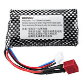HT 7.4V 1300mAh 2S 15C Li-ion Battery T Plug for C602 C604 C605 1/16 RC Car Vehicles Model