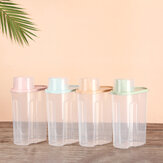 Bakeey PP Food Storage Box Plastic Clear Container Set with Pour Lids Kitchen Storage Bottles Jars Dried Grains Tank
