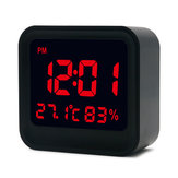 Loskii HC-20 Dijital Yüksek Hassasiyetli Termometre Higrometre Alarmı Saat ile LCD Ekran Ekran