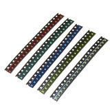 300個5色60各0805 LEDダイオード盛り合わせSMD LEDダイオードキットグリーン/レッド/ホワイト/ブルー/イエロー