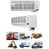 12V/24V Car Large Air Conditioner Multifunction Wall-mounted Digital Display Automobile Refrigeration Evaporator for Car Caravan Truck Travel Camping