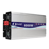 Intelligent Solar Pure Sine Wave Inverter DC 12V/24V To AC 110V 60Hz 3000W/4000W/5000W/6000W Power Converter