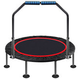 40/48 Inch Foldable Trampoline Round Jumping Pad Cardio Elastic Yoga Exercise Max Load 50/60kg