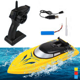 50M Long-range RC Boat 10km/h 2.4G High Speed Remote Control Racing Ship Water Speed Boat Model Toy Gifts For Children