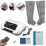 220W 4 Modes Air Compression Foot Massager Infrared Therapy Arm Waist Pneumatic Air Wraps Pain Relief Electric Massager Home Fitness Relaxing Tool