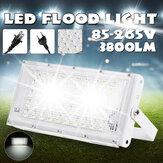 50W 2835 SMD LED-schijnwerper Weerbestendig Tuin Buiten Beveiliging Landschap Lamp EU / US Plug AC85-265V