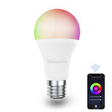 Difeisi DFS-EC-0001 E27 9W WIFI A60 RGB+CCT Smart Bulb 810LM AC220-240V Works with Alexa and Google Assistant