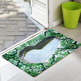 3D Entrance Door Mats Funny Rubber Doormat Fashion Trap Printed Kitchen Rugs