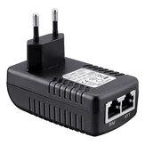 EU Plug CCTV Security 48V 0.5A 24W POE Wall Plug POE Injector Ethernet Adapter IP Camera Phone PoE Power Supply