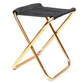 Chaise de pêche Oxford Tissu Portable Camping Pique-Nique Plage BBQ Tabouret Pliant