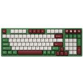 AKKO 3098DS Matcha Red Bean 98 Keys mechanikus billentyűzet C típusú vezetékes Gateron Switch PBT Keycap Gaming Keyboard