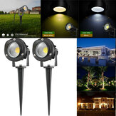 10W COB LED Lawn Light Outdoor Garden Landscape Wall Yard Path Flood Lamp AC85-265V