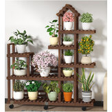 Flower Planta Stand House Diseño Multi Layers Shelf Rack Organizador para Home Garden