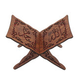 I slamic M uslim Quran Koran Book Holder Wood Stand For Quran Home Decorations