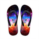 Unisex 3D Flip Flop Comfortable Outdoor Home Beach Casual Breathable Slipper Shoes