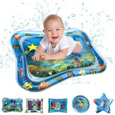 PVC Inflatable Swimming Air Mattress Water Cushion Baby Kids Infant Toddlers Tummy Water Play Fun Toys Ice Mat Pad