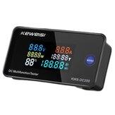Farbe LCD Digital Wattmeter DC 0-200V 10A 50A 100A Voltmeter Amperemeter Leistungsmesser Anzeige mit Shunt