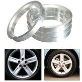 4X buje de aluminio anillos céntricos del eje del coche 60.1mm 73.1mm diámetro de rueda para Toyota Lexus