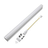 T5 5W 30cm 2000lm SMD 2835 LED Transparant Clear Cover Tube Fluorescerende Lichtlamp AC220V