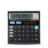 GTTTZEN CT-512 Calculator Economical Solar Dual Power Computer Office Home School Stationery