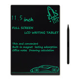Original              NUSITE 11.5 Inch Full Screen LCD Writing Tablet Ultrathin Built-in Magnets Monochrome Font Drawing Notepad Memo Study Office Supplies