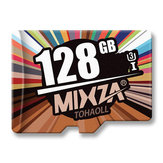 MIXZA Fashion Edition U3 Clase 10 128 GB TF Micro Tarjeta de memoria para DSLR Digital Cámara MP3 HIFI Reproductor de TV Caja Smartphone