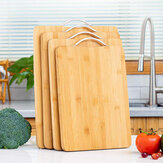 Wooden Chopping Board Bamboo Square Hangable Carbonised Cutting Board Thickened Kitchen Cutting Board