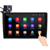 iMars 10.1 Polegada 2Din para Android 8.1 Carro MP5 Player 1 + 16G IPS 2.5D Touch Screen Rádio Estéreo GPS WIFI FM com Câmera de Backup