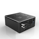 HYSTOU S210H Intel Core i9-9880HK Barebone Eight Core 2.3GHz to 4.8GHz Intel HD Graphics Win10 M.2 2280 SSD