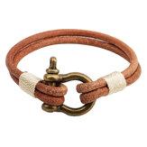 Nowy styl blokady bransoletka dla chłopaka przyjaciela Biżuteria prezent urodzinowy