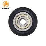 SIMAX3D® Plastic CNC Openbuilds Wheel with Bearing Idler Pulley Gear Perlin Wheel for 3D Printer