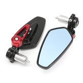 7/8 inch Aluminium achterzijde zijspiegel handvat einde voor motorfiets universeel
