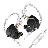 KZ ZSN Pro X 1BA + 1DD In Ear Earphone HIFI DJ Sport Earbud Earphone Headset Running Sport Headphones