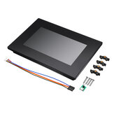 Nextion NX8048K070_011C 7.0 pouces Enhanced HMI Intelligent Smart USART UART En série TFT LCD Display Module Display Multi-touch capacitif Panel Capacitive With Enclosure