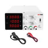 NICE-POWER SPS-W3010 30V 10A Fonte de alimentação CC de comutação de laboratório Fonte de alimentação de laboratório regulada ajustável Regulador de tensão do estabilizador de corrente