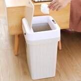 Automatic Intelligent Sensor Trash Bin Household Living Room Kitchen Bedroom Bathroom Trash Plastic Bin