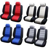 4 قطع غطاء مقعد أمامي عالمي مقعد السيارة يغطي حماة وسادة قابل للغسل