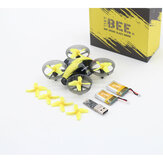 BeeRotor TinyBee 78mm 5.8G 40CH 600TVL Micro FPV Coreless RC Drohne Quadcopter Zwei Batterien Version