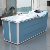 Xiaoshutong 1104 1.36M Portable Folding Adult Bathtub Surround Lock Temperature Stable without Rollover Easy to Store for Bathroom
