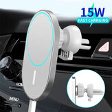 Bakeey 15W Car Magsafe Wireless Caricatore Airvent Mount Magnete Supporto da auto per telefono adsorbibile per iphone 12 12 Pro Max 12 Mini Fast Charging