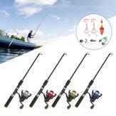 ZANLURE 1.2m Fiberglas Teleskopik Balıkçılık Çubuk Seti Hafif Taşınabilir Korozyon Önleyici Çizilmez Güçlü Sertlik Balıkçılık Çubuklar Balıkçılık Makara