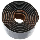 240x5.8x0.5cm Marrom & Balck EVA Teca Piso Faux Imitação Teca Decking Folha Pad