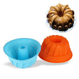 Food Grade Silicone Cake Mold DIY Chocalate Cookies Ice Tray Baking Tool Exclusive Bundt