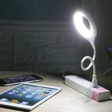 مصباح طاولة LED محمول USB مصباح مكتبي حلقة العناية بالعين ضوء للكمبيوتر الكمبيوتر كمبيوتر محمول دراسة كتاب القراءة ضوءs
