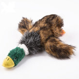 Durable Squeaker Dog Toys Plush Chew Toy Stuff Duck Toy for Dogs