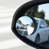 RUNDONG Car Mirror Blind Spot Spiegel Wide Angle Ronde Convex 360 Degree Voor Parking Achteraanzicht Mrror