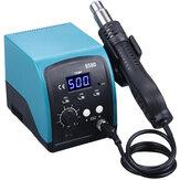 858D 750 W Heteluchtverwarmer LED Digitaal loodvrij BGA Rework Soldeerstation SMT Desoldeerstation 220 V / 110 V