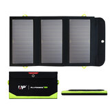 ALLPOWERS 21W Solar Charger with 10000mAh Battery, 3 USB Ports(USB-C and USB-A) SunPower Solar Panel Power Bank For Outdoor Camping