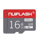Nuiflash NF-TF 03 C10 Carte mémoire 16GB 32GB 64GB Carte 128GB TF Carte de stockage de données pour caméra de téléphone