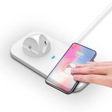 Bakeey 5W 4-in-1 Mobile Phone Charging Station Wireless Charger for Samsung for iPhone